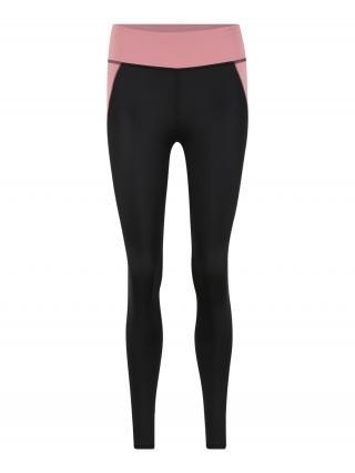 PUMA Športové nohavice  ružová / čierna dámské S
