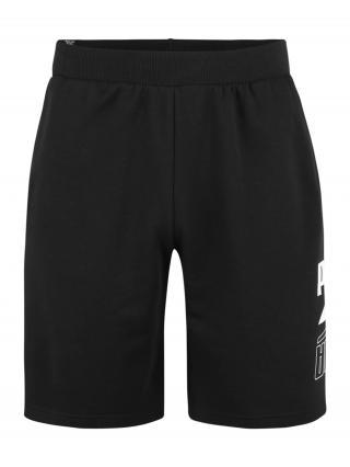 PUMA Športové nohavice  striebornosivá / čierna pánské M