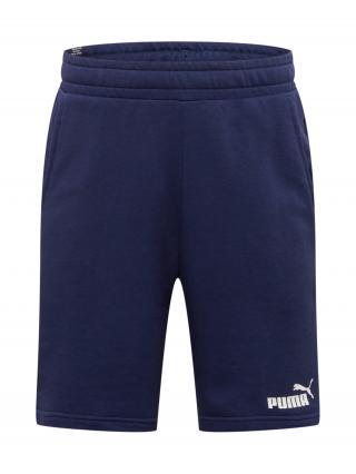 PUMA Športové nohavice  tmavomodrá / biela pánské M