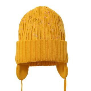 PUPILL Čiapka zimná Eli mustard veľ. 38-40