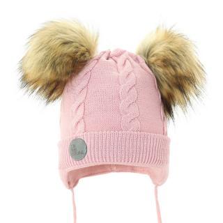 PUPILL Čiapka zimná Wenus pink veľ. 38-40