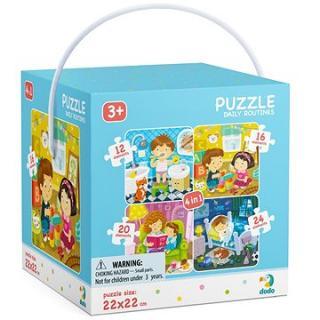 Puzzle 4 v 1 Môj deň
