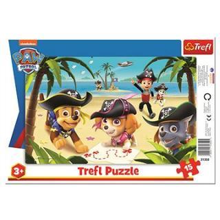 Puzzle doskové Priatelia z Tlapkovej patroly