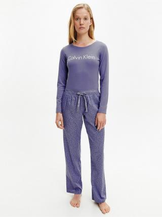 Pyžamká pre ženy Calvin Klein - svetlofialová dámské XL