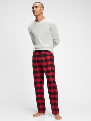 Pyžamové nohavice GAP Červená pánské M