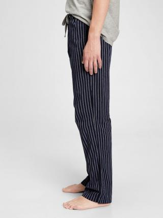 Pyžamové nohavice pajama pants in poplin Čierna pánské XL