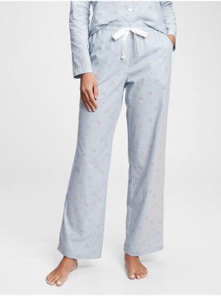 Pyžamové nohavice pajama pants Modrá dámské XS