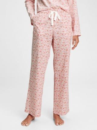 Pyžamové nohavice poplin pajama pants Ružová dámské M