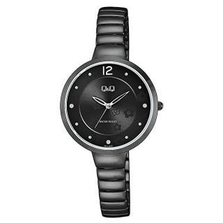 Q & Q Analogové hodinky F611J412 dámské čierna
