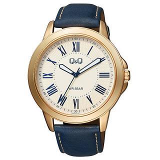 Q & Q Analogové hodinky QB22J107 pánské modrá