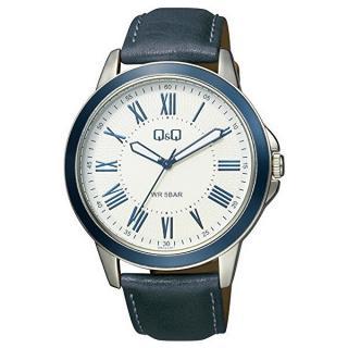 Q & Q Analogové hodinky QB22J317Y pánské modrá
