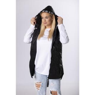 quilted vest with a hood dámské Neurčeno 42