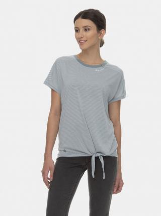 Ragwear Bolivia Blue Striped T-Shirt dámské modrá M
