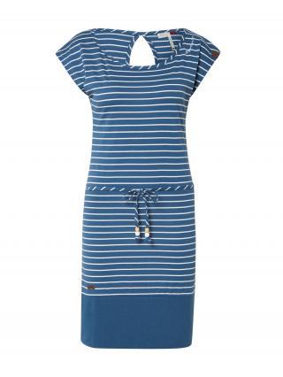 Ragwear Letné šaty Soho  šedobiela / námornícka modrá dámské 36