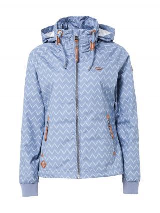 Ragwear Prechodná bunda Apoli Zig Zag  levanduľová / biela dámské XXL