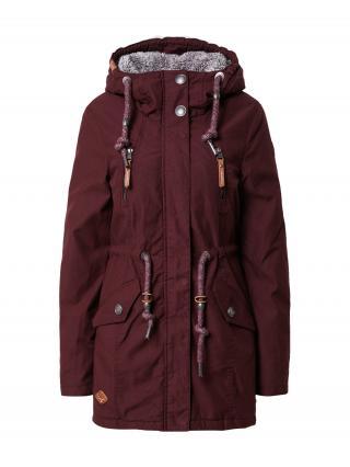 Ragwear Zimná bunda Elsie  vínovo červená dámské S