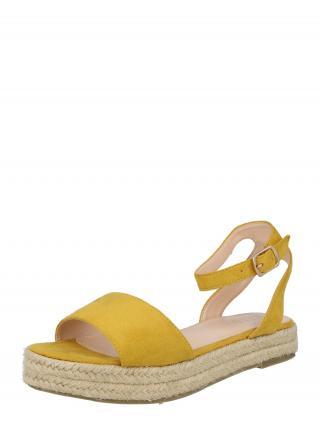 Raid Remienkové sandále DENNY  horčicová dámské 40