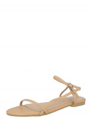 Raid Remienkové sandále Elfred  farba ťavej srsti dámské 37