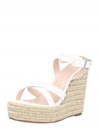 Raid Remienkové sandále ELISHA  biela dámské 40
