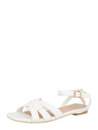 Raid Remienkové sandále KAMILA  biela dámské 37