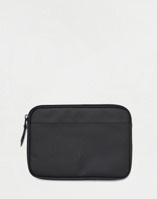 Rains Laptop Case 11 01 Black Čierna