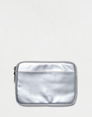 Rains Laptop Case 11 12 Silver Šedá