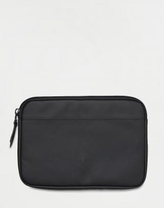 Rains Laptop Case 13 01 Black Čierna
