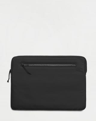 Rains Laptop Cover 13 01 Black Čierna