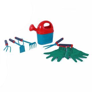 Rappa Sada detského záhradného náradia s rukavicam, 6 ks