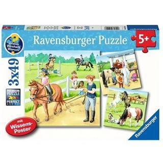 Ravensburger 051298 Kone 3× 49 dielikov
