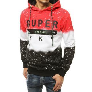 Red mens hoodie BX4896 pánské Neurčeno XXL