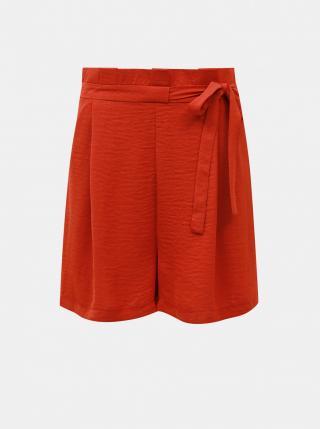 Red Shorts ONLY dámské červená L