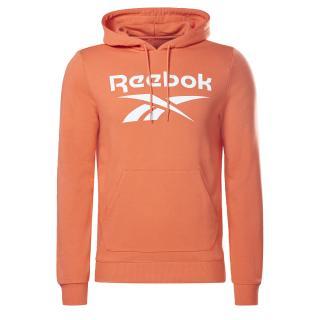Reebok Classic Mikina  oranžová / biela pánské S