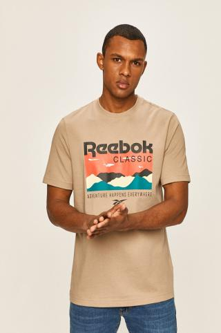 Reebok Classic - Pánske tričko pánské béžová S