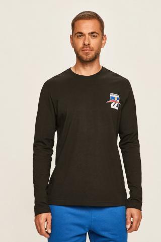 Reebok Classic - Tričko s dlhým rúkavom pánské čierna S