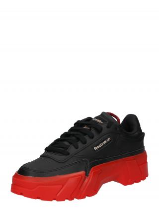 Reebok Classics Nízke tenisky CLUB C CARDI  červená / čierna dámské 37
