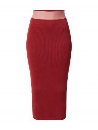 Reebok Classics Sukňa Cardi  tmavočervená / ružová dámské 34