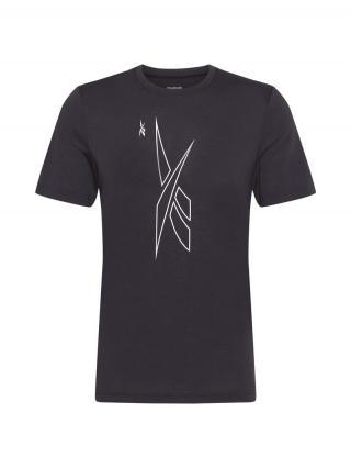 REEBOK Funkčné tričko  čierna pánské S