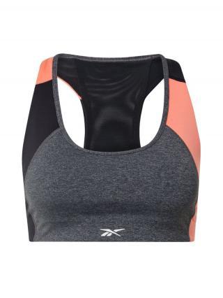REEBOK Športová podprsenka  ružová / čierna / sivá melírovaná dámské XS