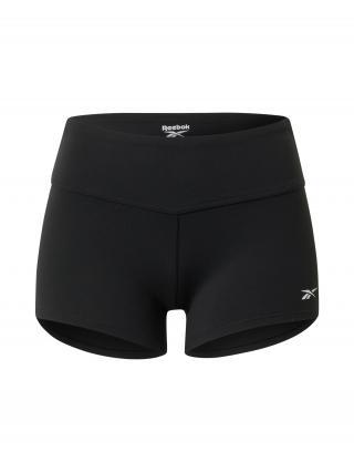 REEBOK Športové nohavice Chase Solid Booty  čierna dámské XS