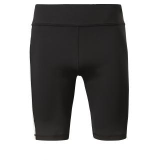 REEBOK Športové nohavice  čierna / biela dámské XL