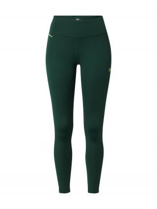 REEBOK Športové nohavice  tmavozelená dámské M