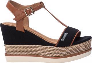 Refresh Dámske sandále Black Pu Combined Ladies Sandals 69580 Black 41 dámské