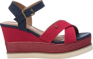 Refresh Dámske sandále Red Textile Ladies Sandals 69595 Red 38 dámské