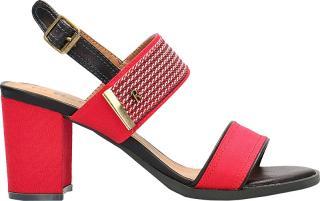 Refresh Dámske sandále Red Textile Ladies Sandals 69598 Red 39 dámské