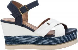 Refresh Dámske sandále White Textile Ladies Sandals 69595 White 40 dámské