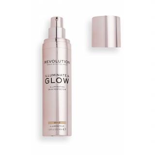 Revolution Tekutý rozjasňovač Glow & Illuminate 40 ml Gold dámské