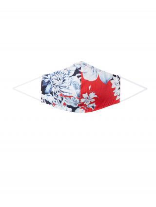 Rich & Royal Látkové rúško Reversible  červená / tmavomodrá / svetlomodrá dámské One Size