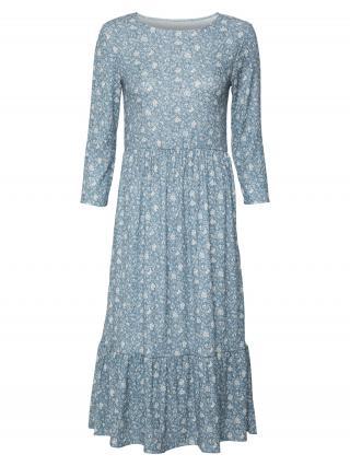 Rich & Royal Šaty  dymovo modrá / biela dámské 34