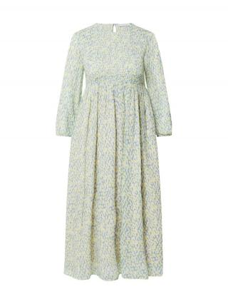 Rich & Royal Šaty  modrosivá / žltá / biela dámské 36